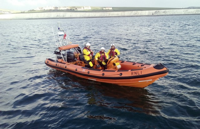 Brighton Belle & Brighton Lifeboat Woman Overboard Exercise